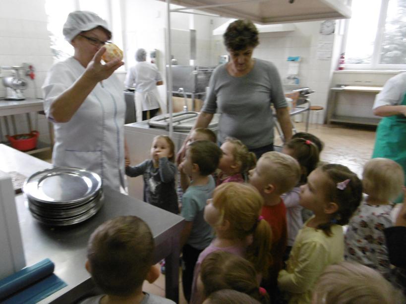 Wizyta W Przedszkolnej Kuchni Przedszkole Nr 5 Z Oddziałem